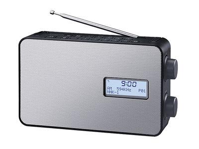 FM/AM 2バンドラジオ