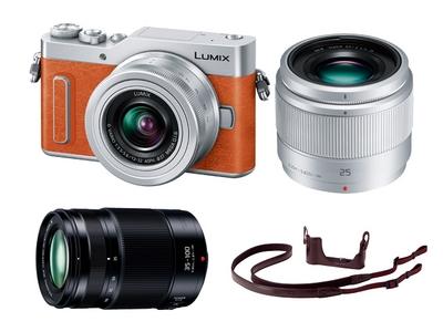 デジタル一眼カメラLUMIX GF90W Panasonic Store オリジナルキット(オレンジ)
