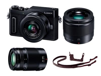 デジタル一眼カメラLUMIX GF90W Panasonic Store オリジナルキット(ブラック)