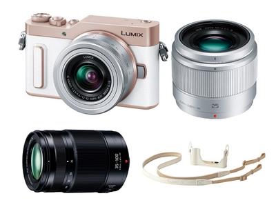 デジタル一眼カメラLUMIX GF90W Panasonic Store オリジナルキット(ホワイト)
