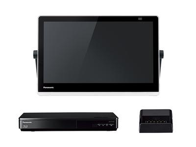 ブルーレイディスクプレーヤー/HDDレコーダー付ポータブル地上デジタルテレビ