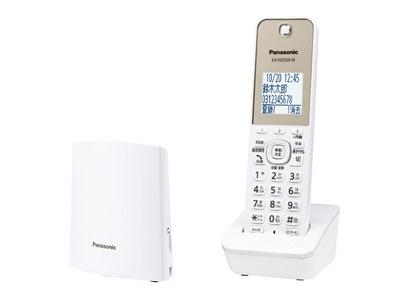 コードレス電話機 子機1台付き(ホワイト)