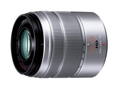 デジタル一眼カメラ用交換レンズ(望遠ズームレンズ:シルバー)